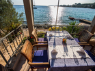 Apartments by the sea, Korcula - restaurant in Gradina bay (10 minutes away from apartments)