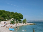 Famous beach Bistrica just a few minutes from apartments away