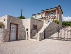 Outside of stone Villa - 3 bedroom villa with pool on Krk island for two families