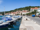 Take a walk through the charming Vela Luka town - villa Sunset bay, Korcula Island