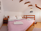 Brac charming house by the sea - Cozy bedroom in the gallery ensures a romantic atmosphere
