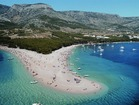Zlatni rat beach that leaks into the Adriatic is just 250 m away from the house!