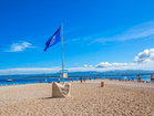 Zlatni rat beach is awarded with best Blue flag beach.