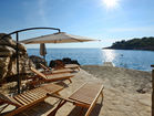 Charming apartment by the sea - wonderful private beach undert the vacaion house