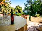 Treat yourself with a tasty local wine and enjoy - 4 bedroom beachfront house in Orebic, Croatia
