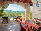 Charming vacation house on Korcula Island - the covered terrace is perfect for the morning coffee