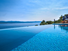 Villa with pool by the Sea - wonderful infinity pool