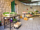 Market in Vela Luka (5 km away from the apartments)