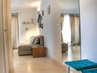 Hvar Serenity Apartments - view towards the living room with sofa bed for two persons.