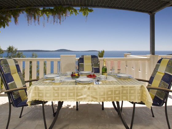 Vacation house Sea Star - balcony is offering beautiful views